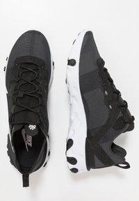 Nike Sportswear - REACT - Sneakers - black/white - 3