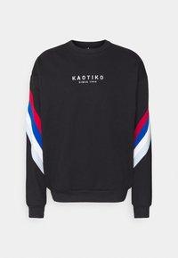 Kaotiko - UNISEX CREW WALKER - Sweatshirt - black - 4