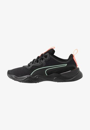 ZONE XT PEARL - Sports shoes - black/energy peach