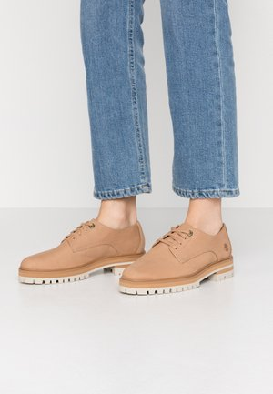 LONDON SQUARE OXFORD - Sportieve veterschoenen - light brown