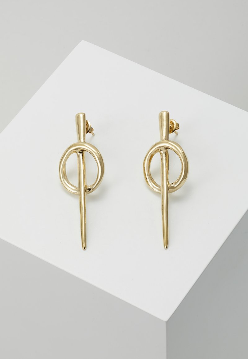 UNOde50 - MY SQUAD HREAD EARRING - Boucles d'oreilles - gold-coloured