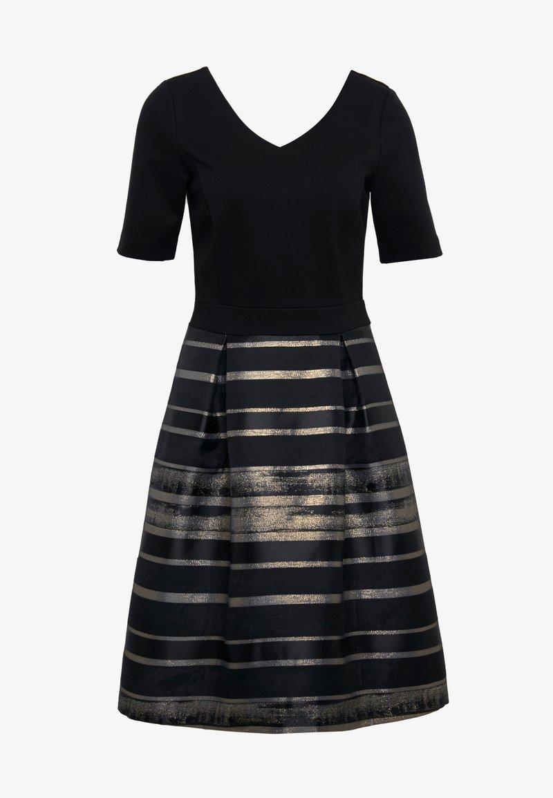 Esprit Collection Shine Luxe Cocktailkleid Festliches Kleid Black Schwarz Zalando De