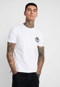 Carlo Colucci - UNISEX - Print T-shirt - weiss - 0
