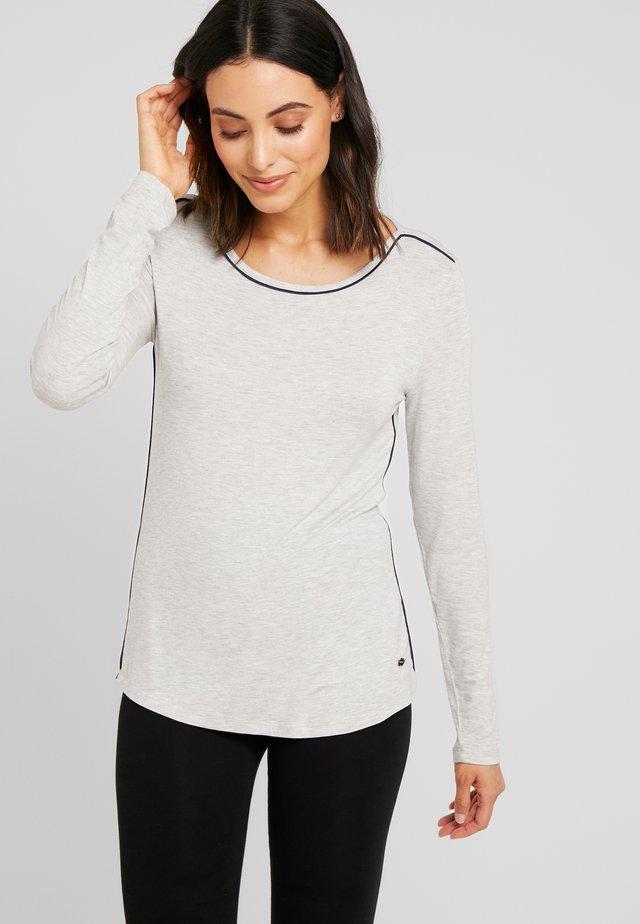 JAYLA SINGLE SHIRT - Koszulka do spania - light grey