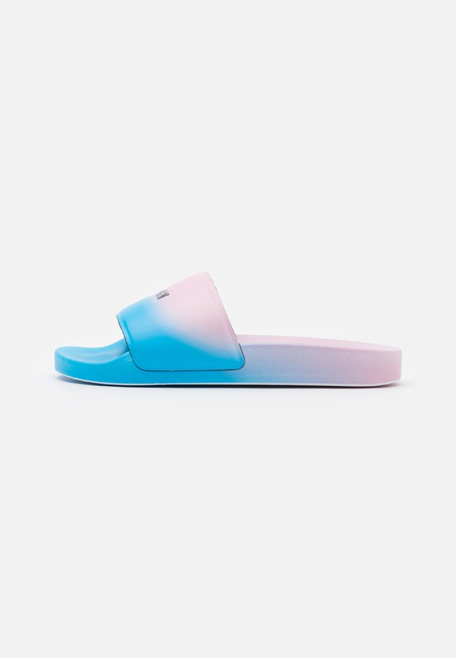 CIABATTA DONNA WOMAN`S SLIDE - Ciabattine - pink/light blue