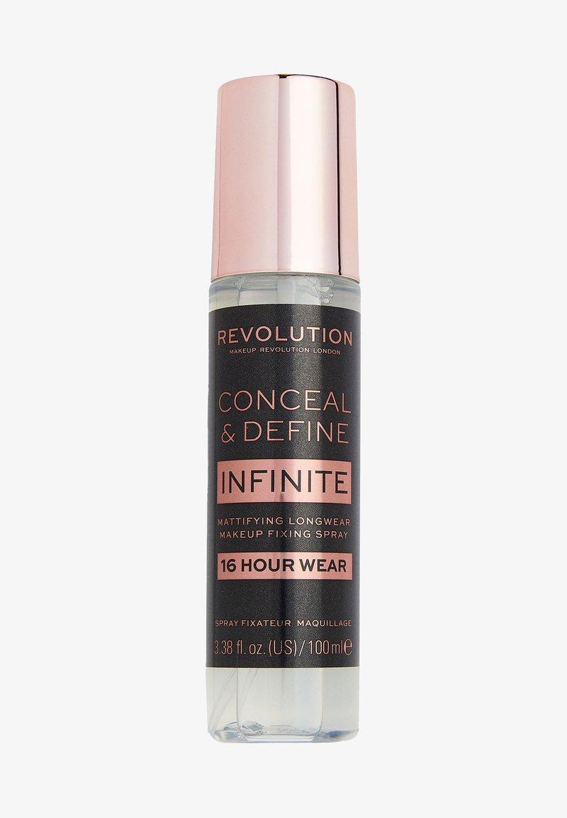 Make up Revolution - INFINITE FIXING SPRAY - Setting spray & powder - -
