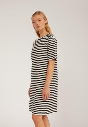 Jersey dress - undyed-black