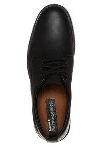Timberland - STORMBUCKS PT OXFORD - Casual lace-ups - black smooth - 4