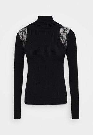 ISLANDA - Sweter - black