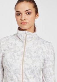 O'Neill - CLIME  - Fleece jacket - white aop w/ brown or beige - 3