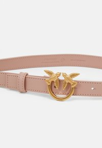 Pinko - BBERRY SMALL SIMPLY BELT - Belt - light pink - 3