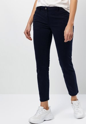 SLIM FIT  - Trousers - dark blue