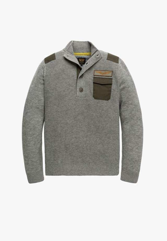 Jumper - mid grey