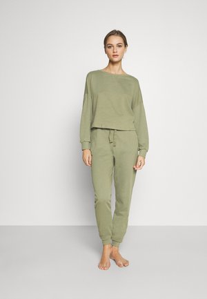 Basic lounge set - Pyjama set - khaki