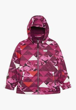 JOSEFINE 721 JACKET - Lyžařská bunda - dark pink