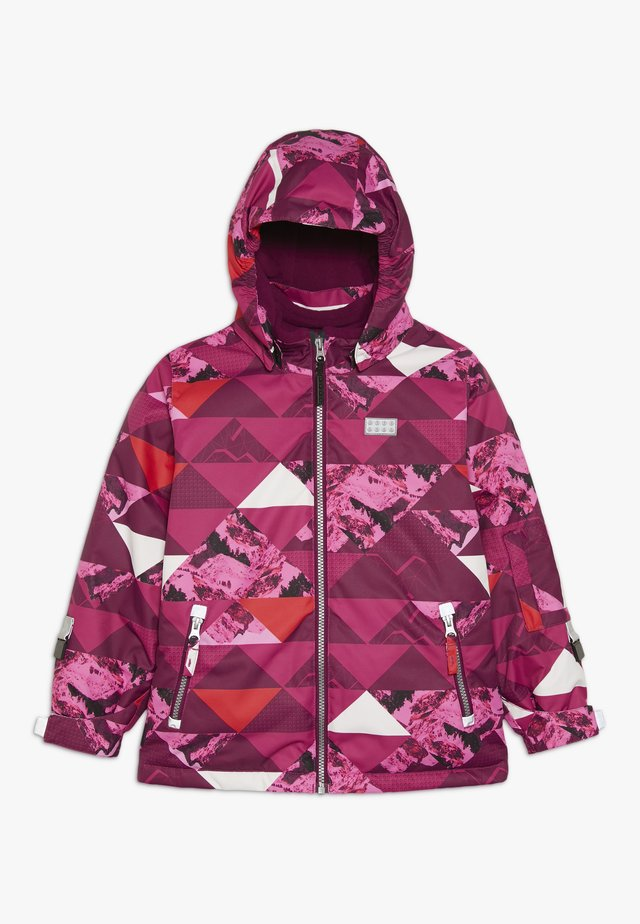 JOSEFINE 721 JACKET - Veste de ski - dark pink
