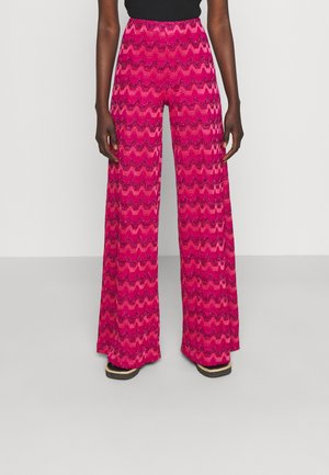 TROUSERS - Trousers - hot pink