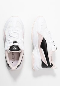 Puma - CILIA CHEETAH - Baskets basses - white/black/rosewater - 0