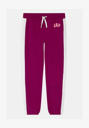 GIRL LOGO - Tracksuit bottoms - orchid blossom