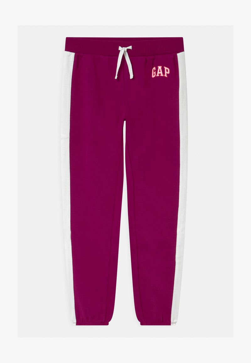 GAP - GIRL LOGO - Tracksuit bottoms - orchid blossom
