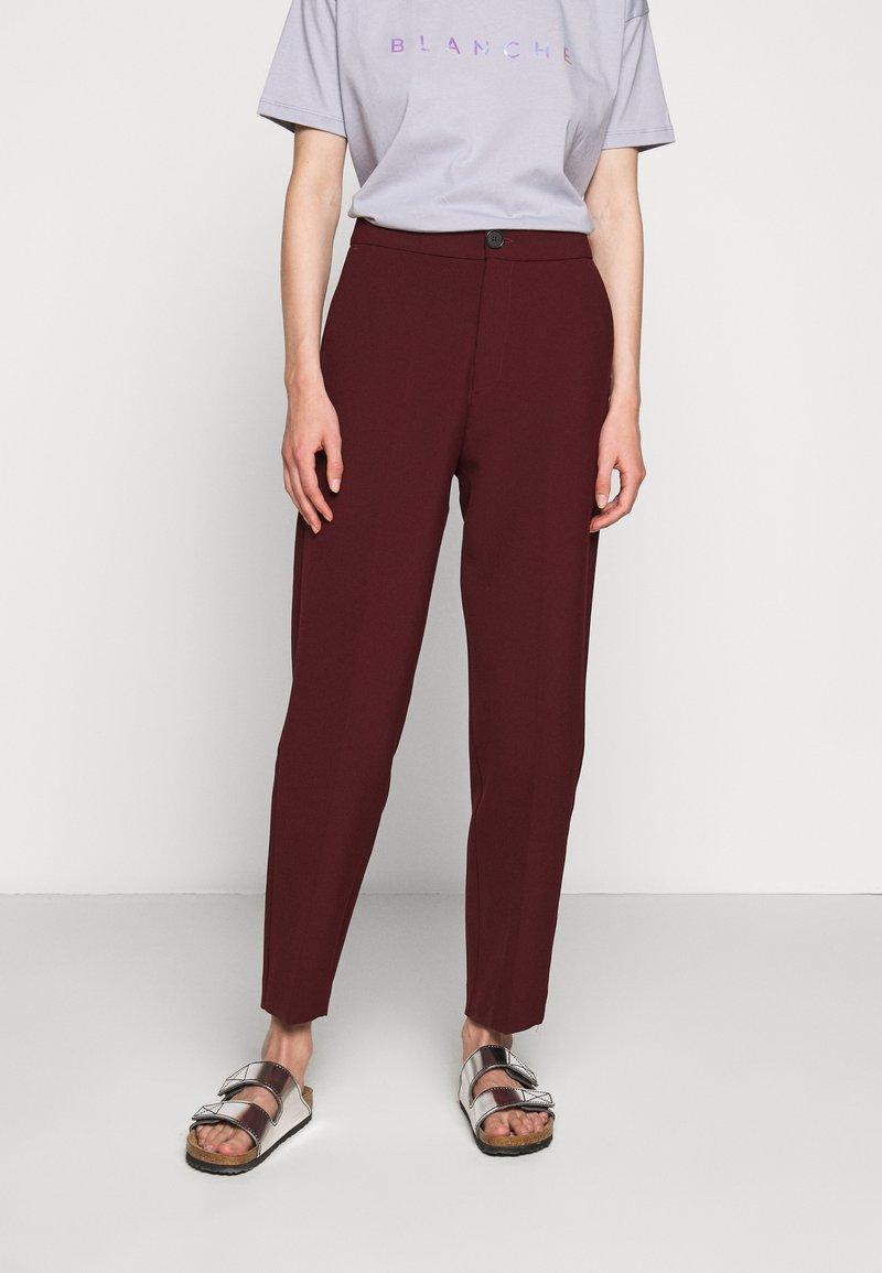 BLANCHE - JELINE PANTS - Pantalon classique - cocoa