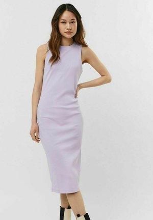 Shift dress - pastel lilac