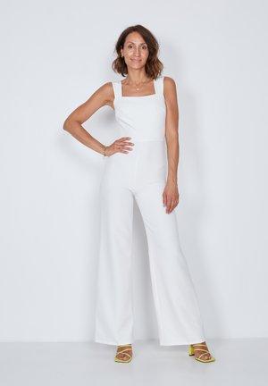 SQUARE STRAPPY - Tuta jumpsuit - off-white