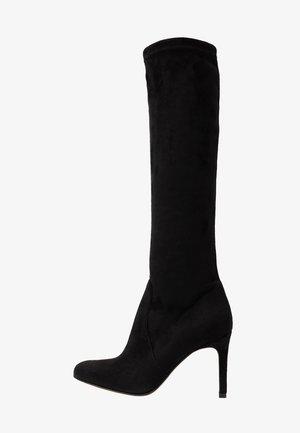 ARCADE - Laarzen met hoge hak - black