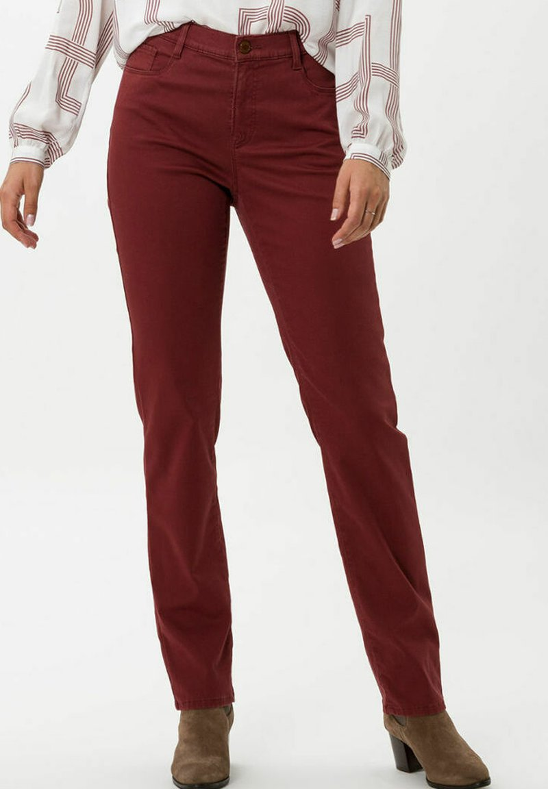 BRAX - STYLE MARY - Trousers - rosewood