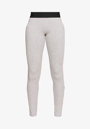 ESSENTIALS SPORT INSPIRED COTTON LEGGINGS - Leggings - grey/black