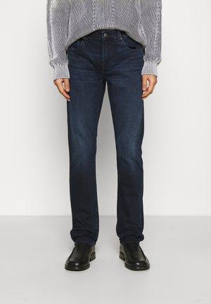 SLIMMY - Džíny Straight Fit - dark blue