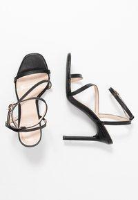 BEBO - HAMPTON - Sandaler med høye hæler - black - 3