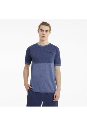 T-shirt con stampa - elektro blue