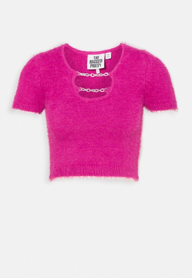 PERKY - T-shirts med print - pink