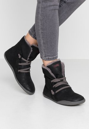 PEU CAMI - Lace-up ankle boots - black