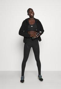 Even&Odd active - Fleece jacket - black - 1