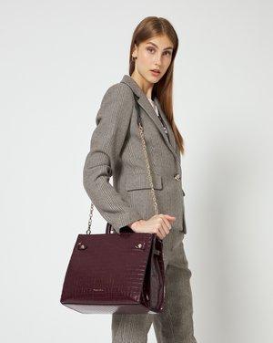 Handbag - dark red