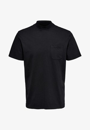 STEHKRAGEN - Basic T-shirt - black