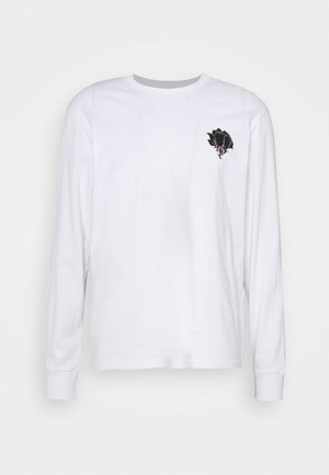 FRONT AND BACK GRAPHIC LONG SLEEVE UNISEX - Maglietta a manica lunga - white
