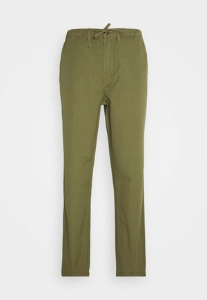RIPSTOP TROUSER - Pantalones chinos - military green