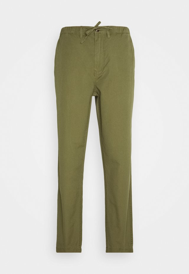 RIPSTOP TROUSER - Chinos - military green