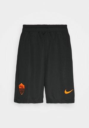 AS ROM SHORT - Squadra - black/safety orange