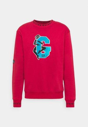 SINGGANG JUNCTION CREWNECK UNISEX - Sweatshirt - red