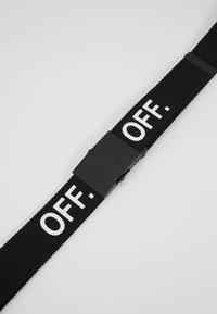 Urban Classics - OFF BELT - Belt - black - 2