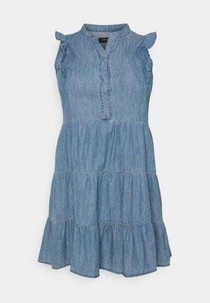 CARESMA LIFE TUNIC DRESS - Vestido vaquero - medium blue denim