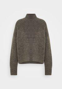 Even&Odd - BASIC- spongy perkin neck - Jersey de punto - charcoal - 3