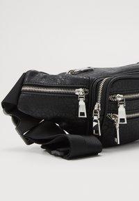 Topshop - TUMBLED BUMBAG - Bum bag - black - 2