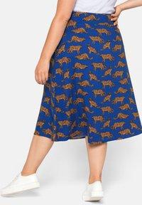 Sheego - A-line skirt - ultramarin - 2