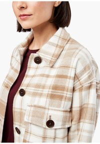 s.Oliver - Light jacket - offwhite check - 4