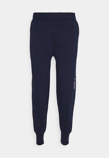 LOOP BACK - Pyjama bottoms - cruise navy